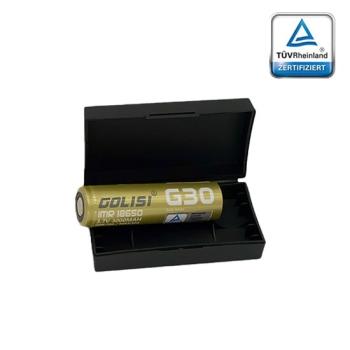 Golisi G30 - 18650 Battery incl. Transport Case