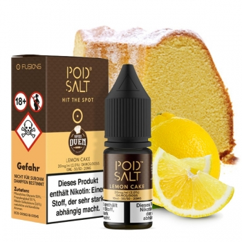 POD Salt Fusion - Lemon Cake